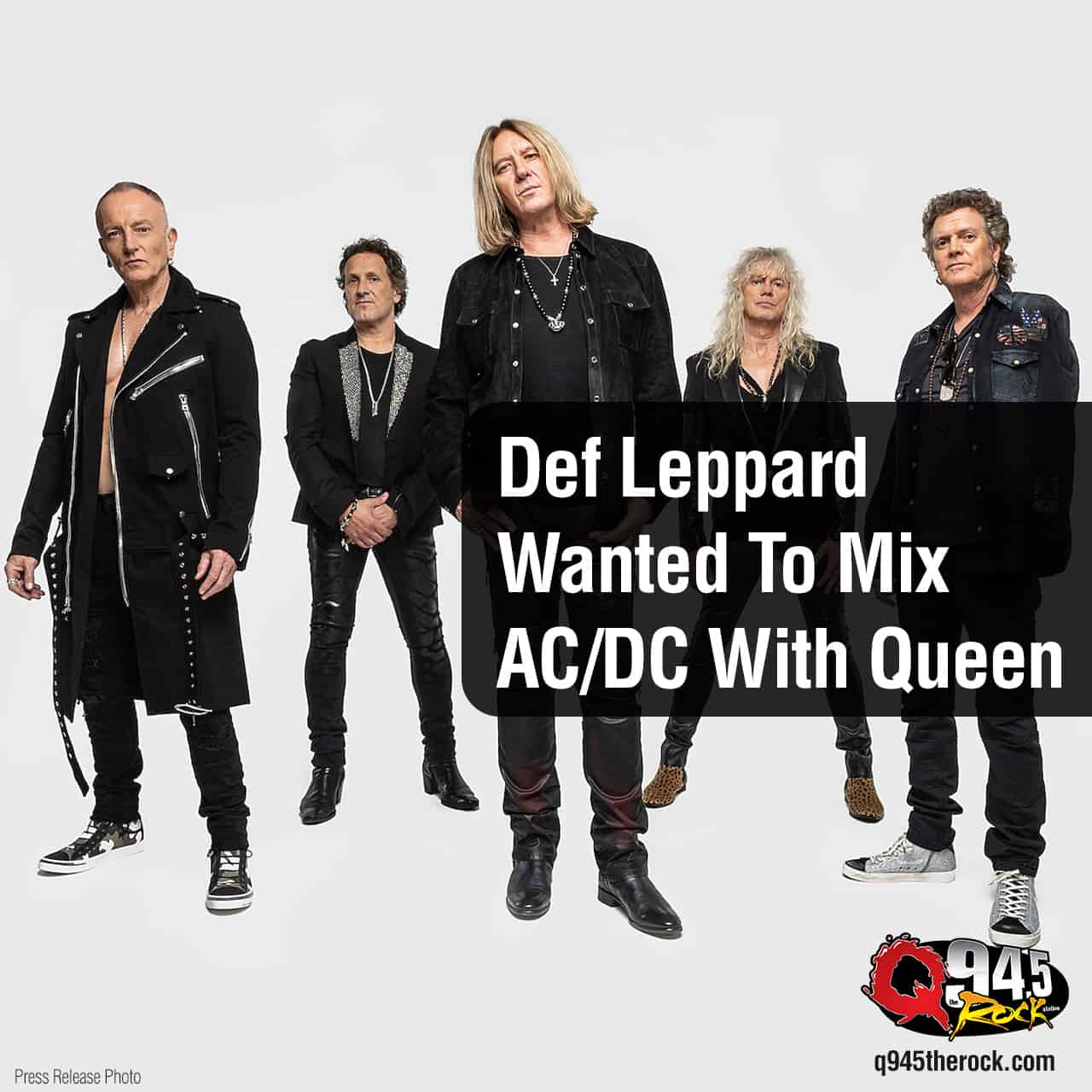 Def Leppard Wanted To Mix AC/DC With Queen