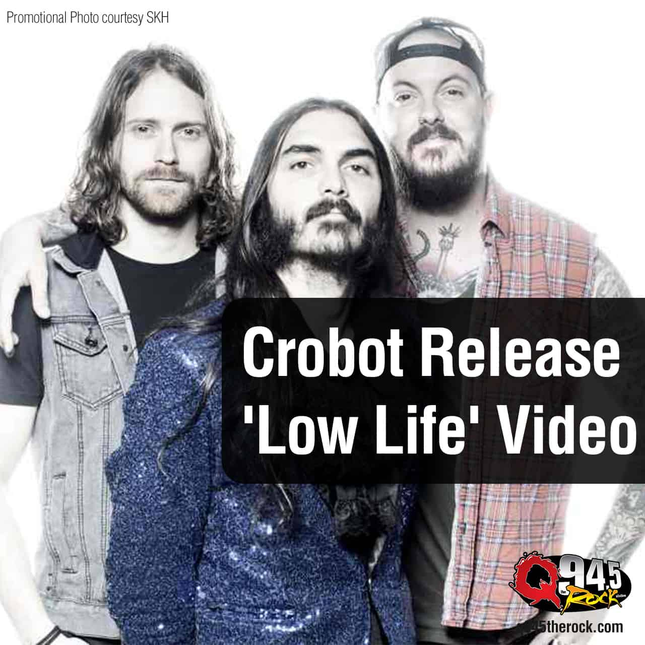 Crobot Release 'Low Life' Video