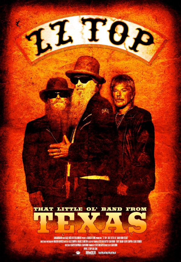 Produced by the Emmy award-winning Banger Films, ZZ TOP: THAT LITTLE OL' BAND FROM TEXAS tells the story of how three oddball teenage bluesmen - Billy Gibbons, Dusty Hill, and Frank Beard – became one of the biggest, most beloved bands on the planet, all while maintaining a surrealist mystique that continues to intrigue fans and entice onlookers 50 years after the band's inception.