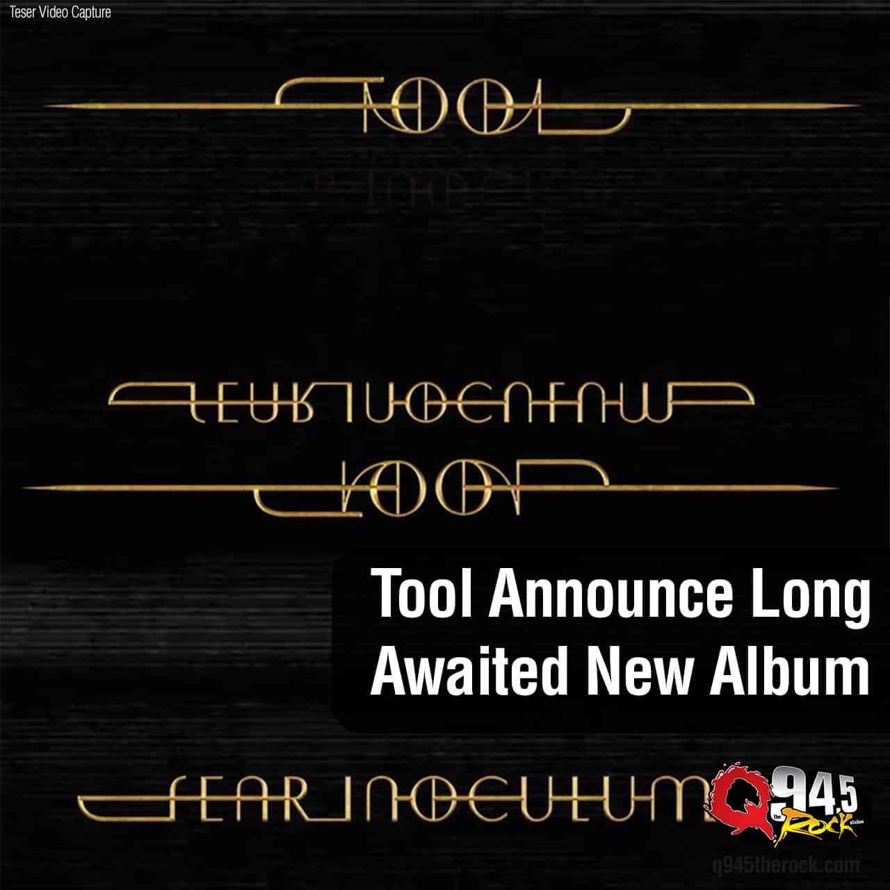 Tool Announce Long Awaited New Album