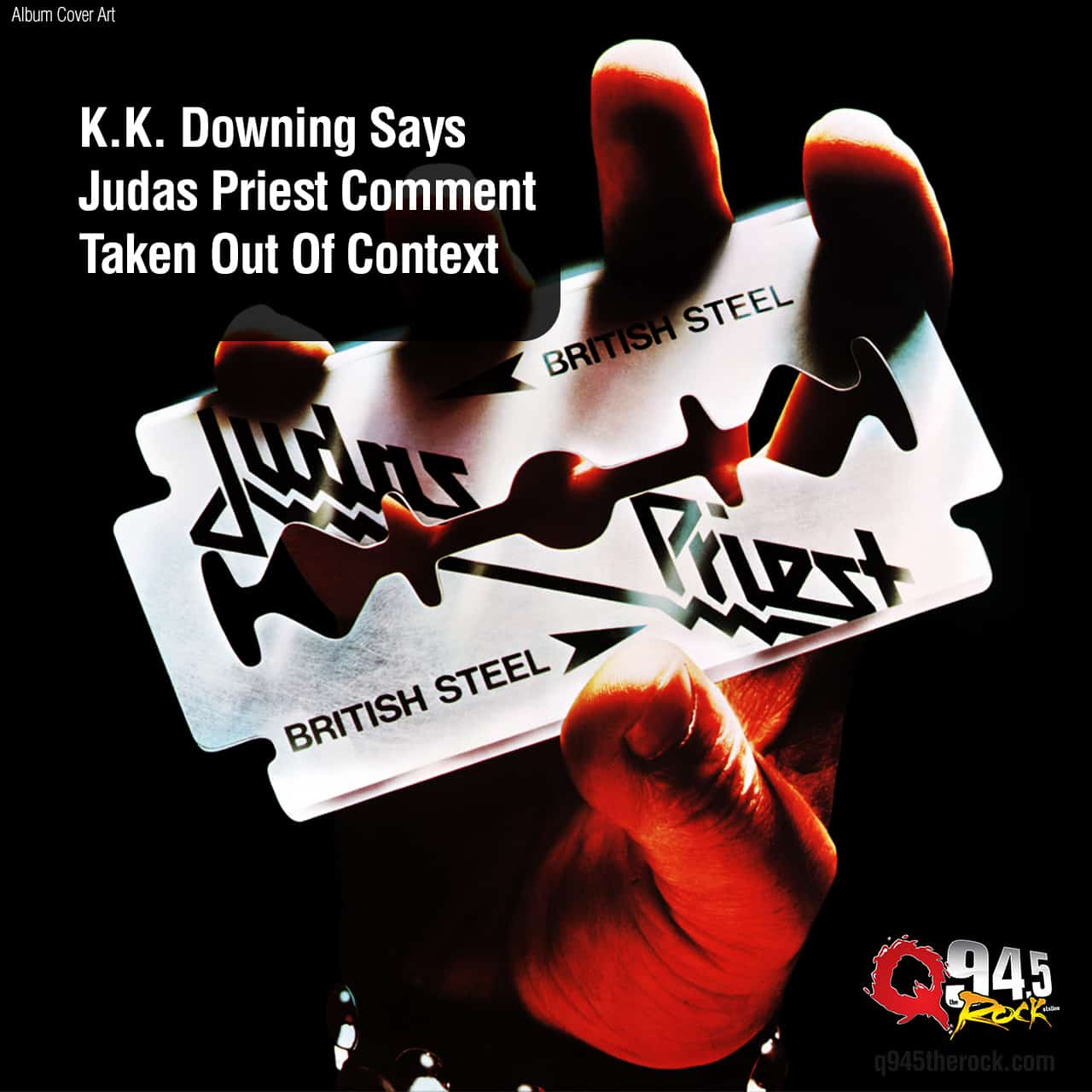 K.K. Downing Says Judas Priest Comment Taken Out Of Context