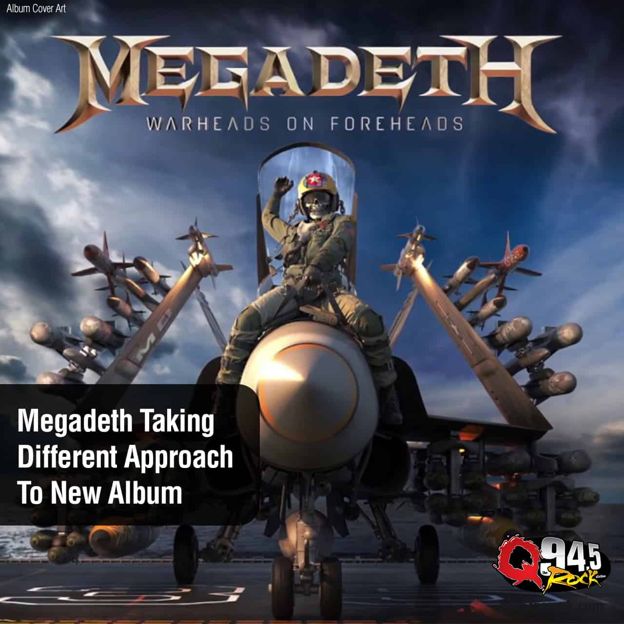 Megadeth Taking Different Approach To New Album