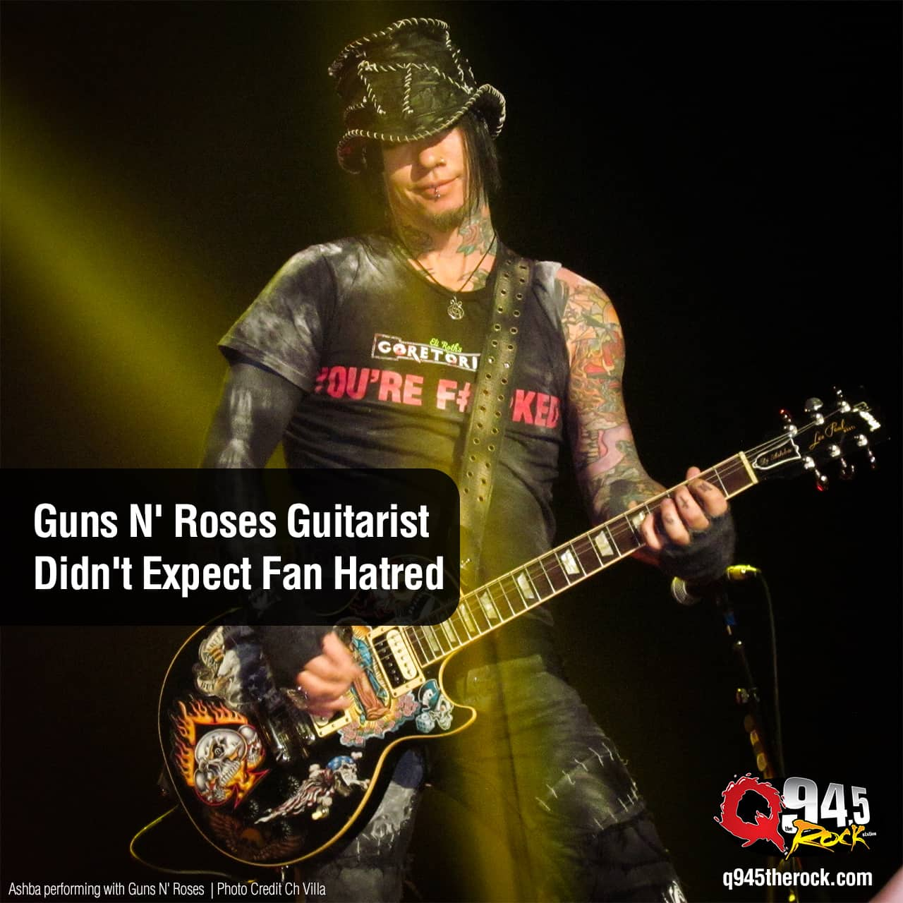 Guns N' Roses Guitarist Didn't Expect Fan Hatred