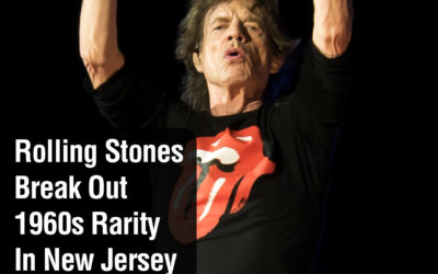 Rolling Stones Break Out 1960s Rarity In New Jersey