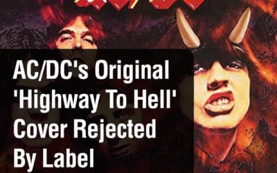 AC/DC's Original 'Highway To Hell' Cover Shot Down By Label