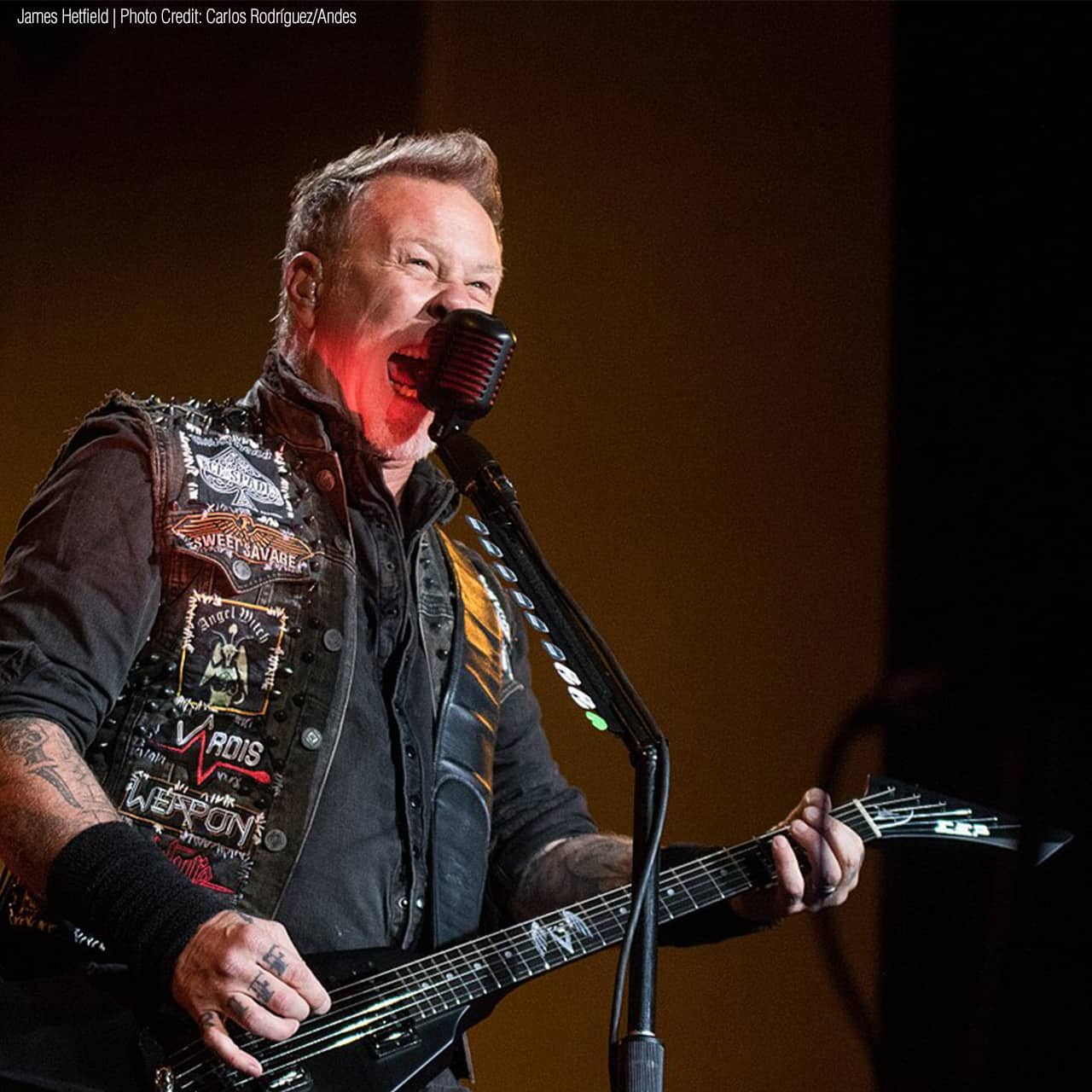 Last month, there was a report about a Canadian woman blasting METALLICA to scare away a cougar.  And now, singer JAMES HETFIELD has called her, so she got to thank him personally for his cougar-scaring music.