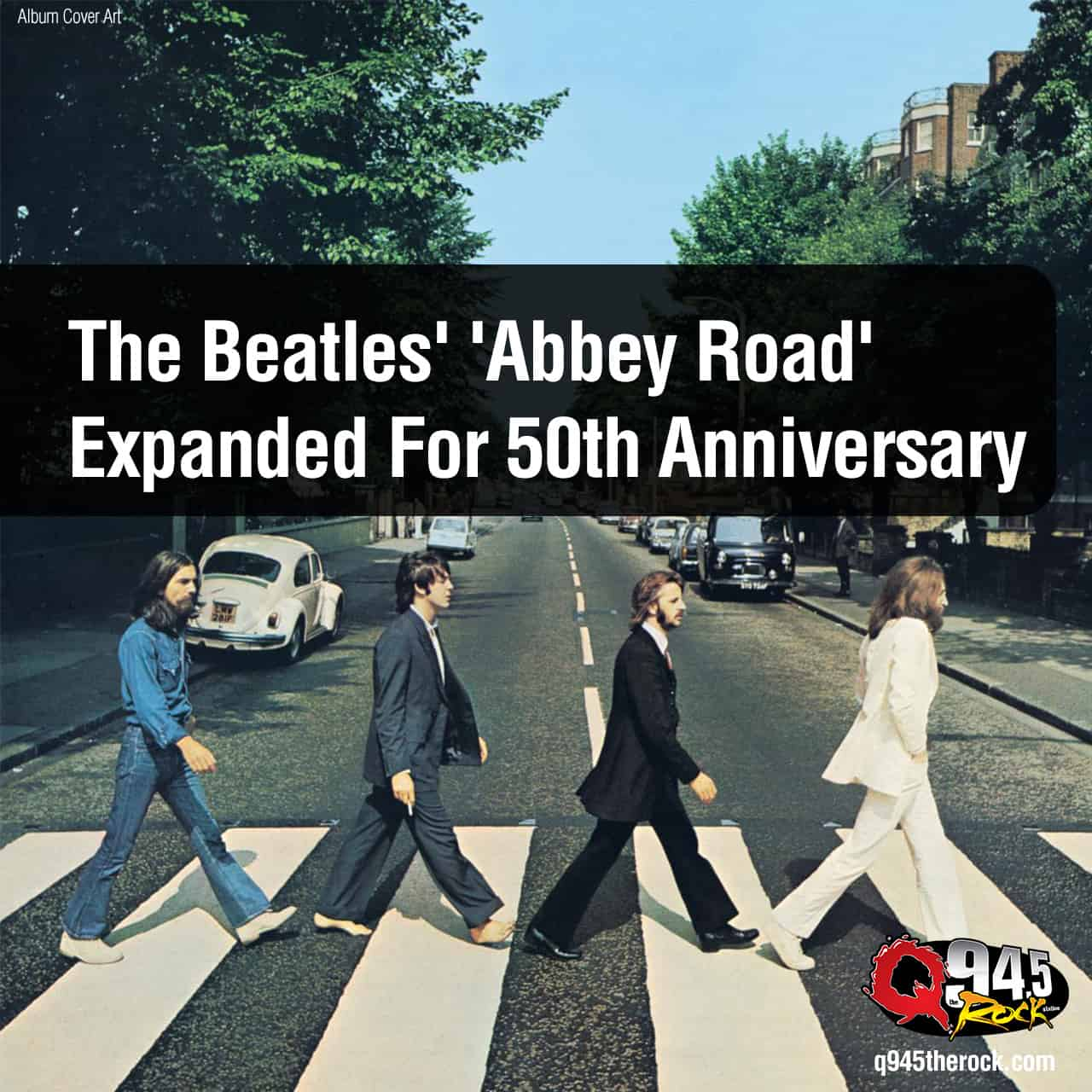 The Beatles' 'Abbey Road' Expanded For 50th Anniversary