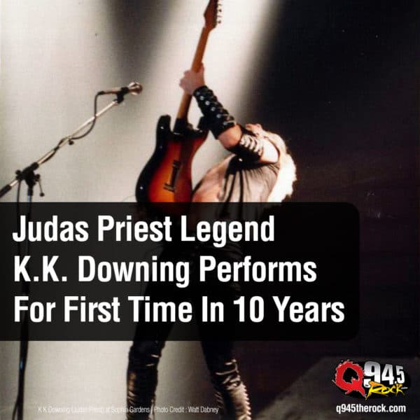 Video: Judas Priest Legend K.K. Downing Performs For First Time In 10 Years