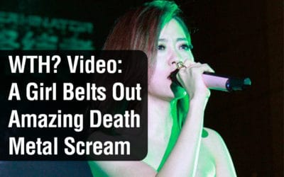 What the …? Video: A Girl Belts Out an Amazing Death Metal Scream