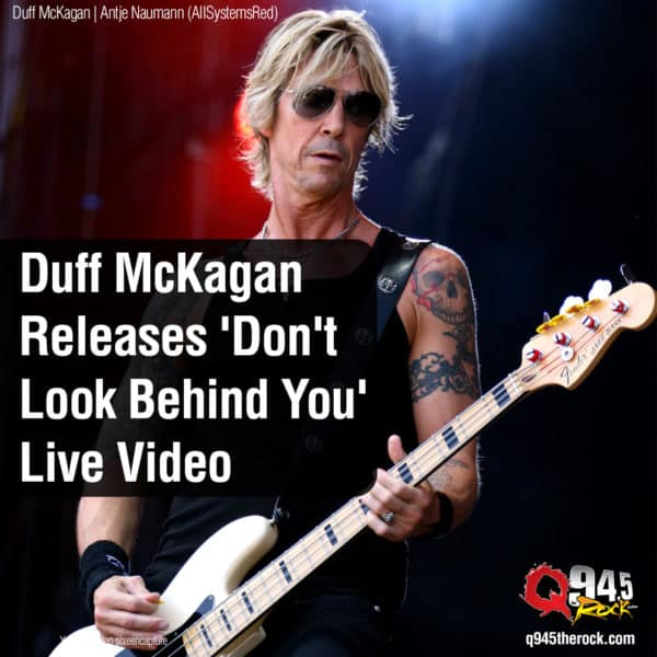 Duff McKagan Releases 'Don't Look Behind You' Live Video
