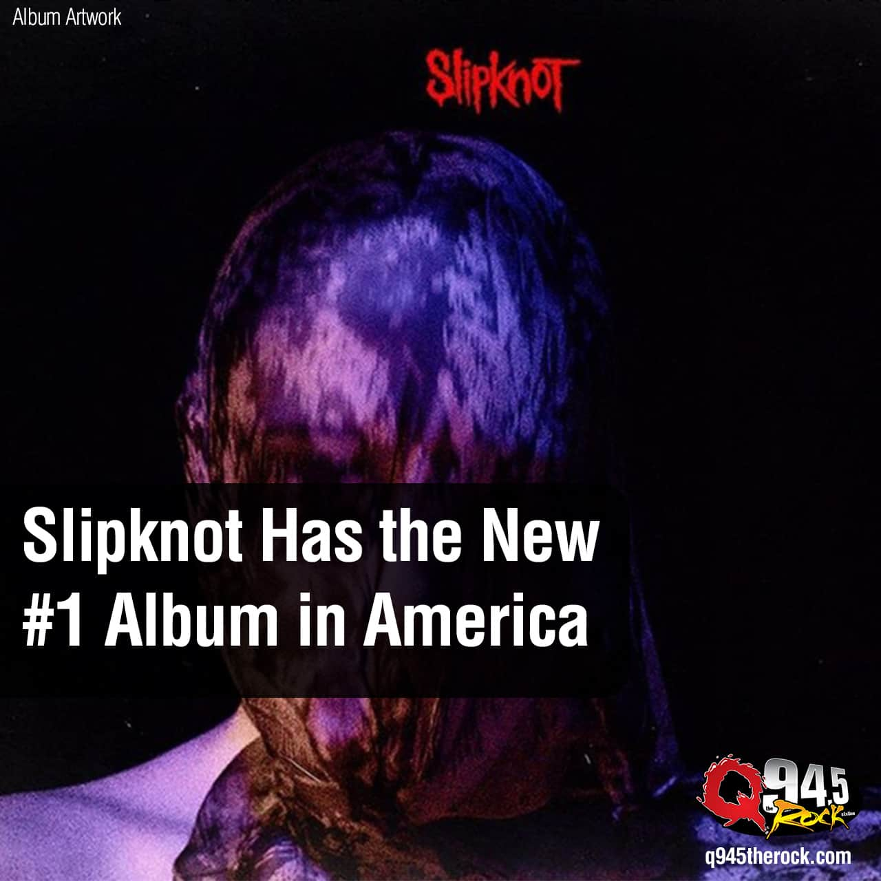 Slipknot Has the New #1 Album in America