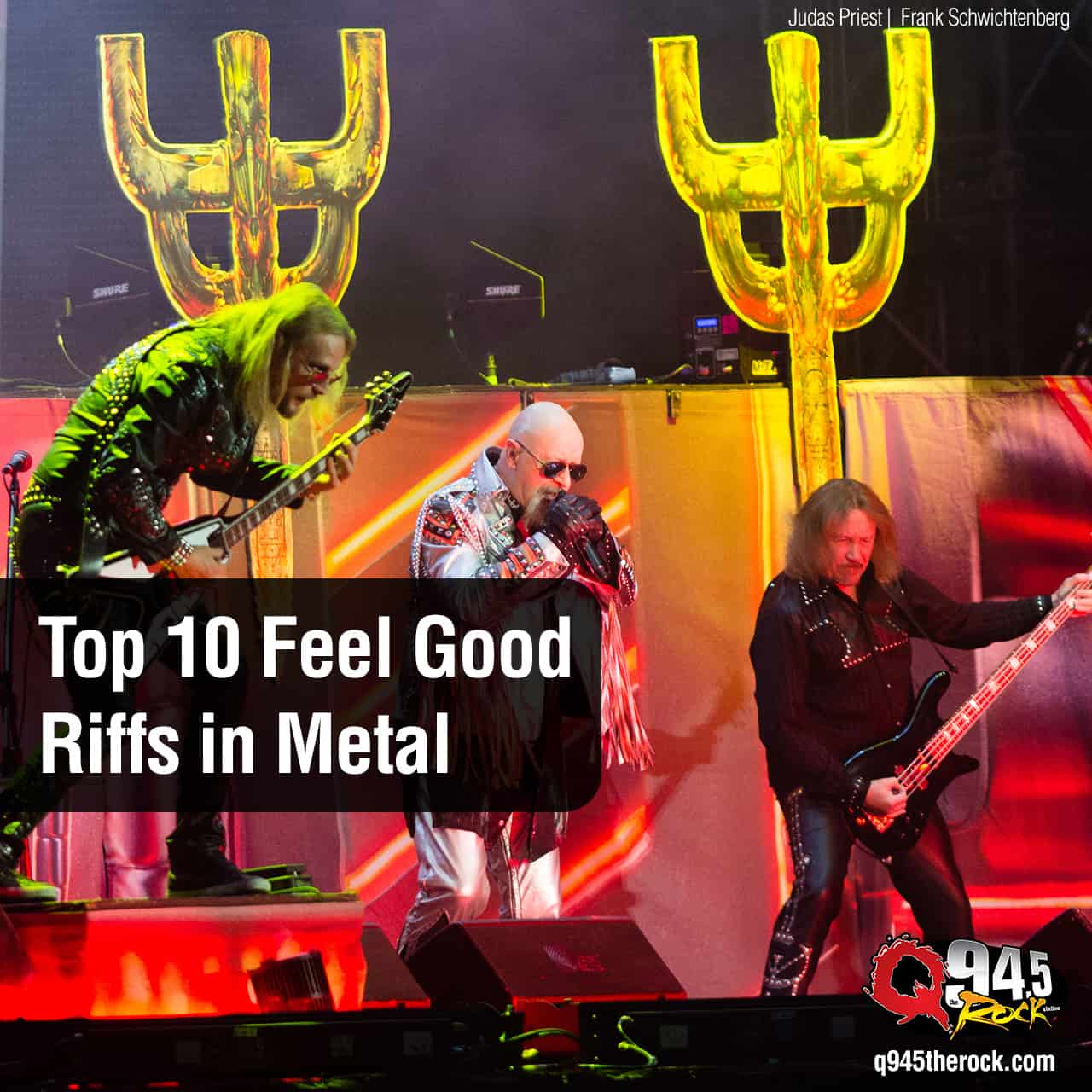 Are These the Top 10 Feel-Good Riffs in Metal?