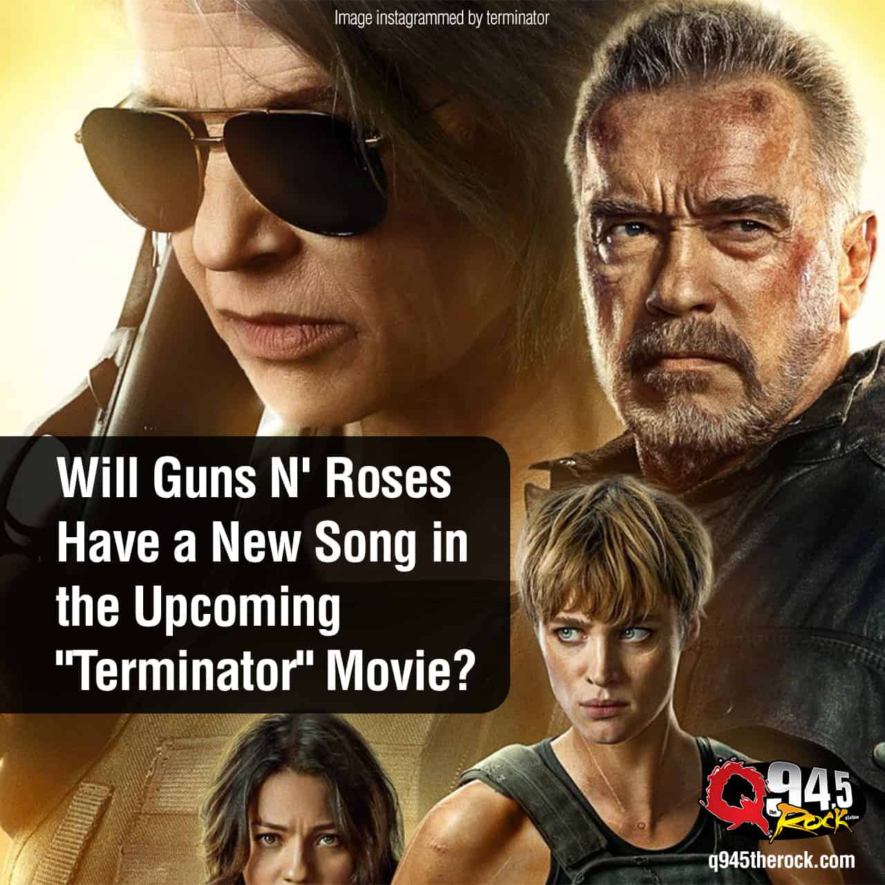 "Rumor has it that GUNS N' ROSES have a NEW song in the upcoming ""Terminator"" movie, ""Dark Fate""."