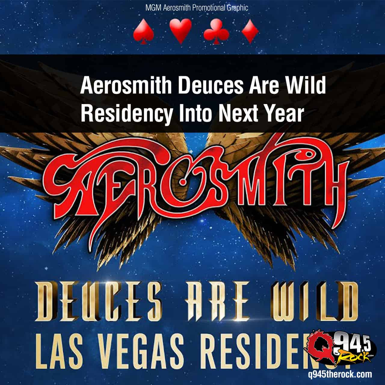 Aerosmith Deuces Are Wild Residency Into Next Year