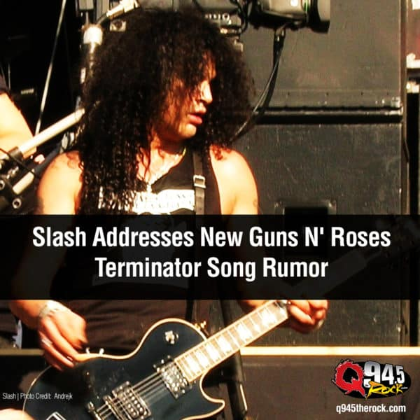 Slash Addresses New Guns N' Roses Terminator Song Rumor