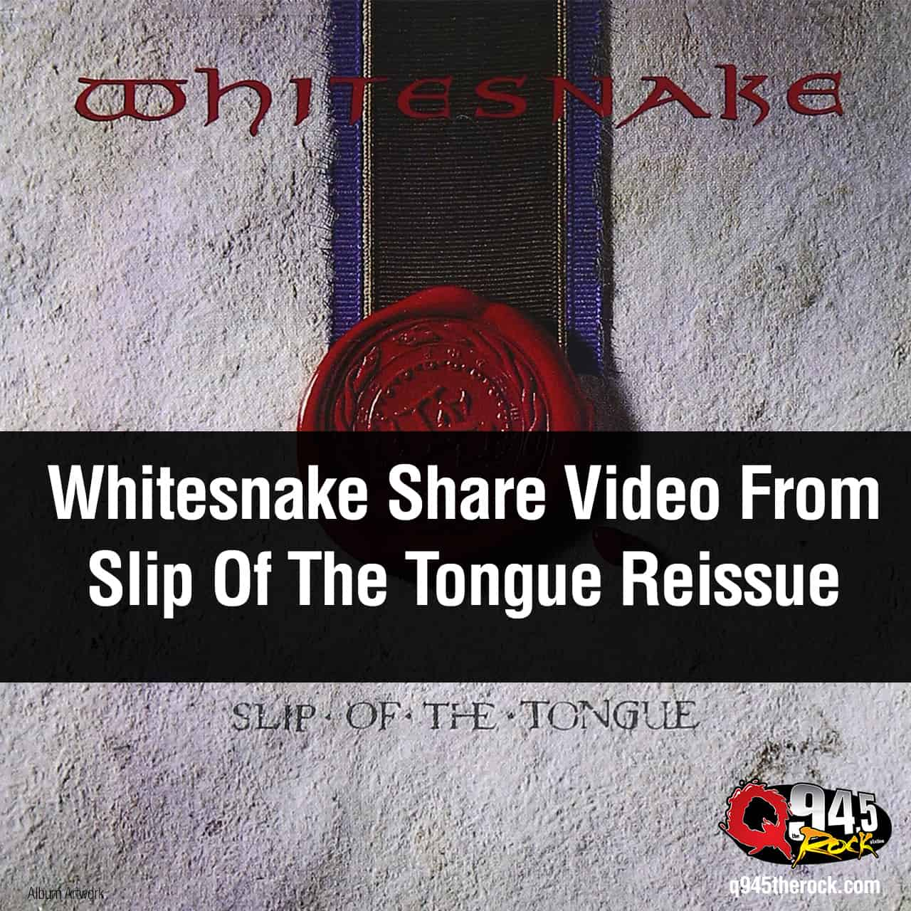 Whitesnake Share Video From Slip Of The Tongue Reissue