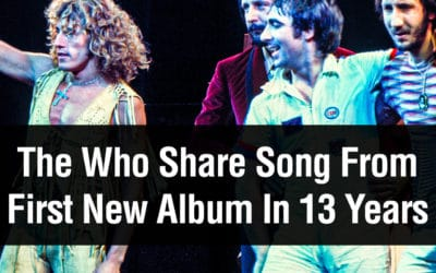 The Who Share Song From First New Album In 13 Years