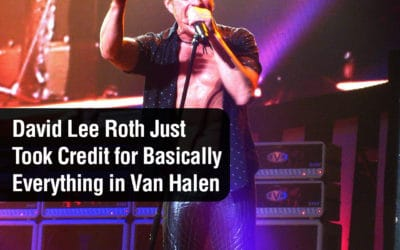 David Lee Roth Just Took Credit for Basically Everything in Van Halen