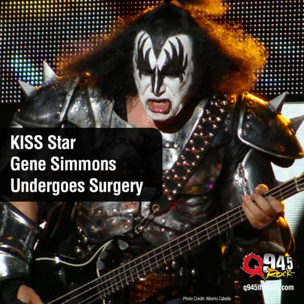 KISS Star Gene Simmons Undergoes Surgery