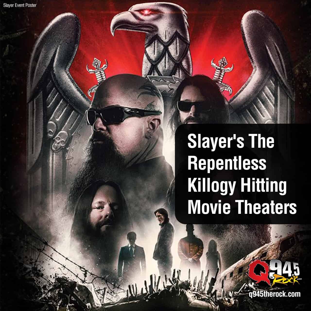 Slayer's The Repentless Killogy Hitting Movie Theaters