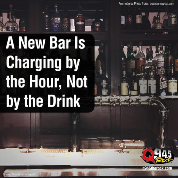 A New Bar Is Charging by the Hour, Not by the Drink