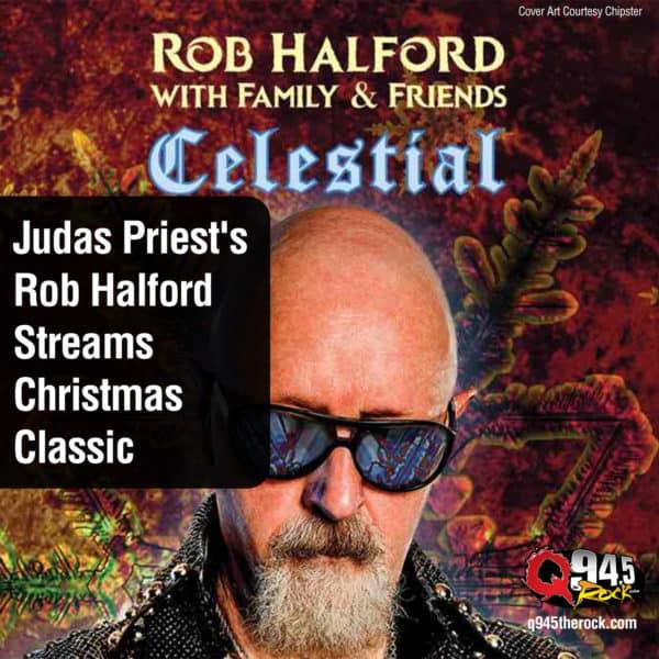 Judas Priest's Rob Halford Streams Christmas Classic