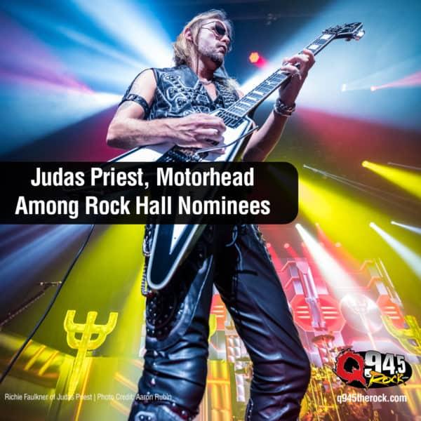 Judas Priest, Motorhead Among Rock Hall Nominees