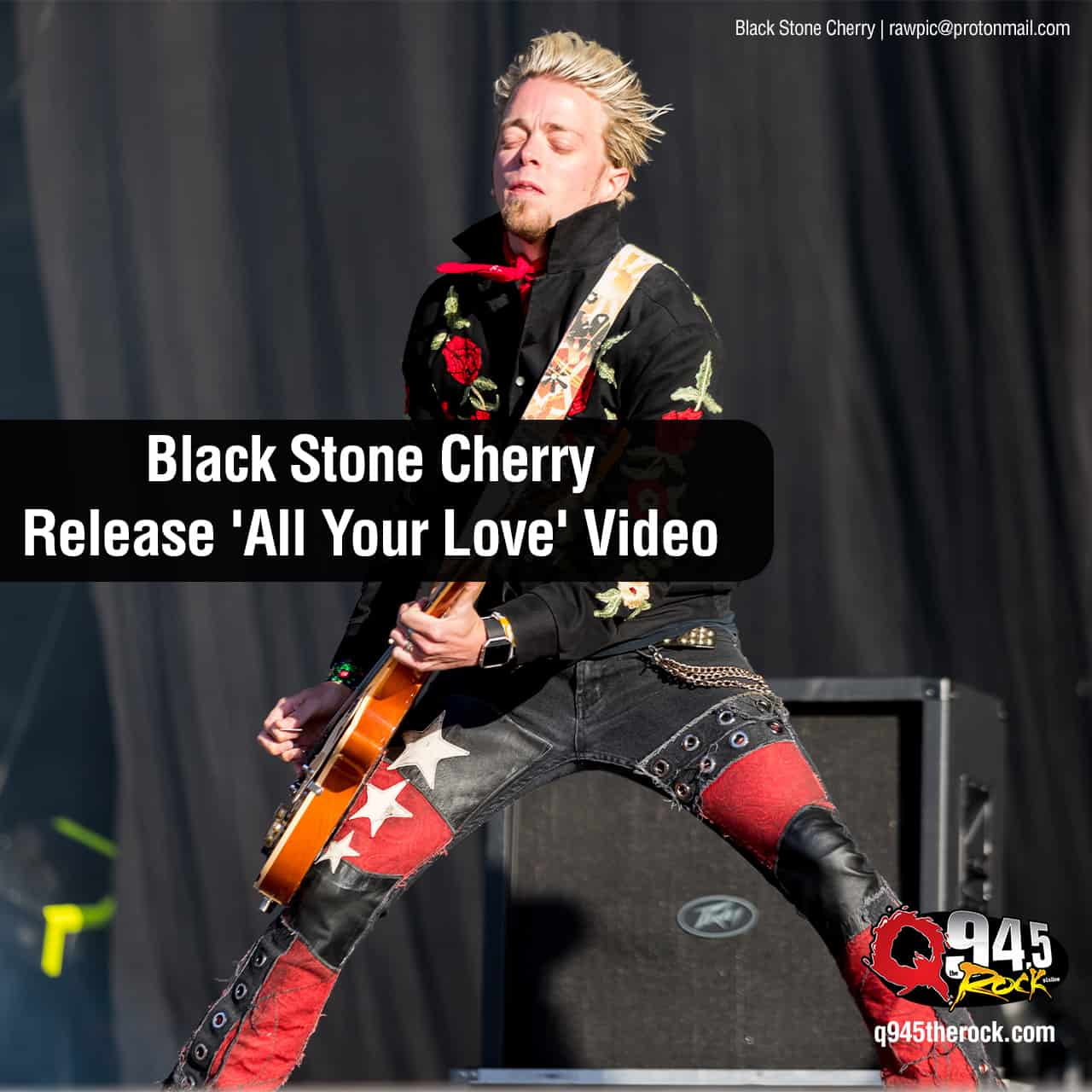 Black Stone Cherry Release 'All Your Love' Video