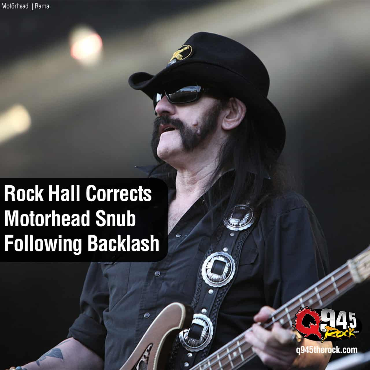 Rock Hall Corrects Motorhead Snub Following Backlash