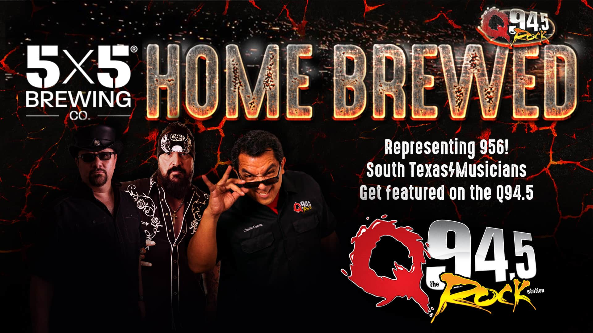 5x5 Brewing Presents: Home Brewed Talent 37