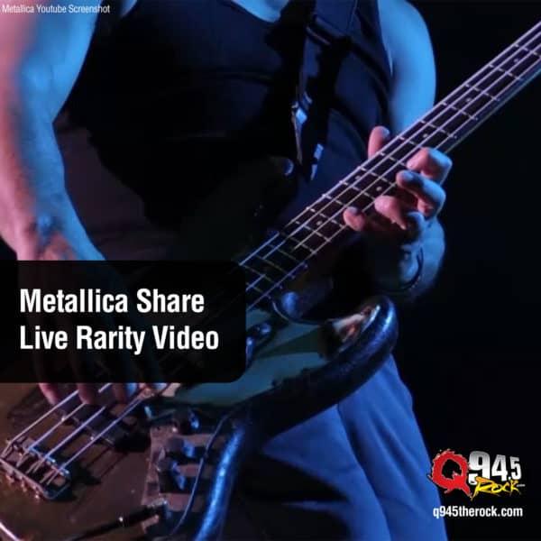 Metallica Share Live Rarity Video