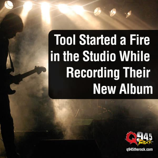 Tool Started a Fire in the Studio While Recording Their New Album
