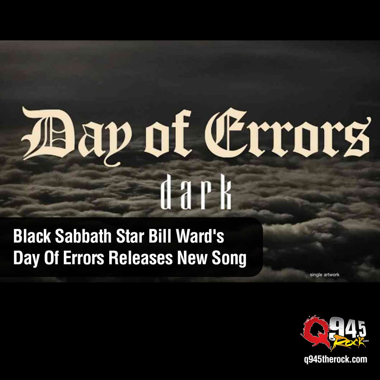 Black Sabbath star Bill Ward's Day Of Errors Releases New Song