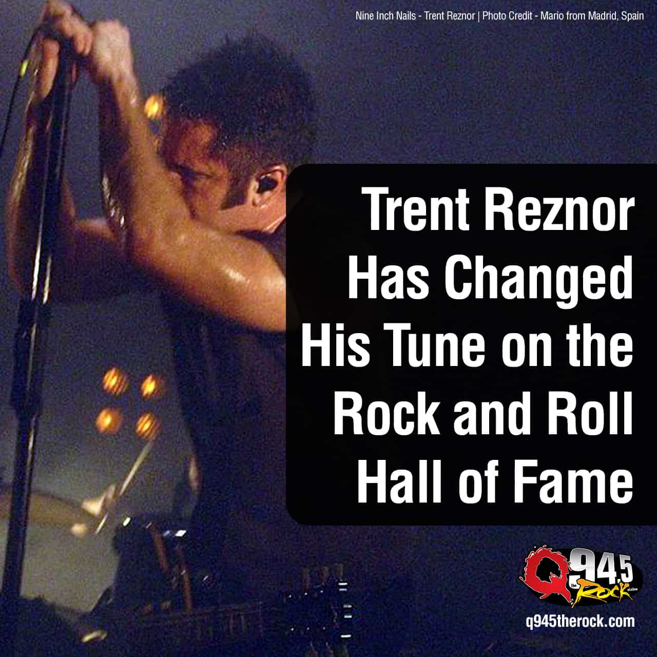 Trent Reznor Has Changed His Tune on the Rock and Roll Hall of Fame
