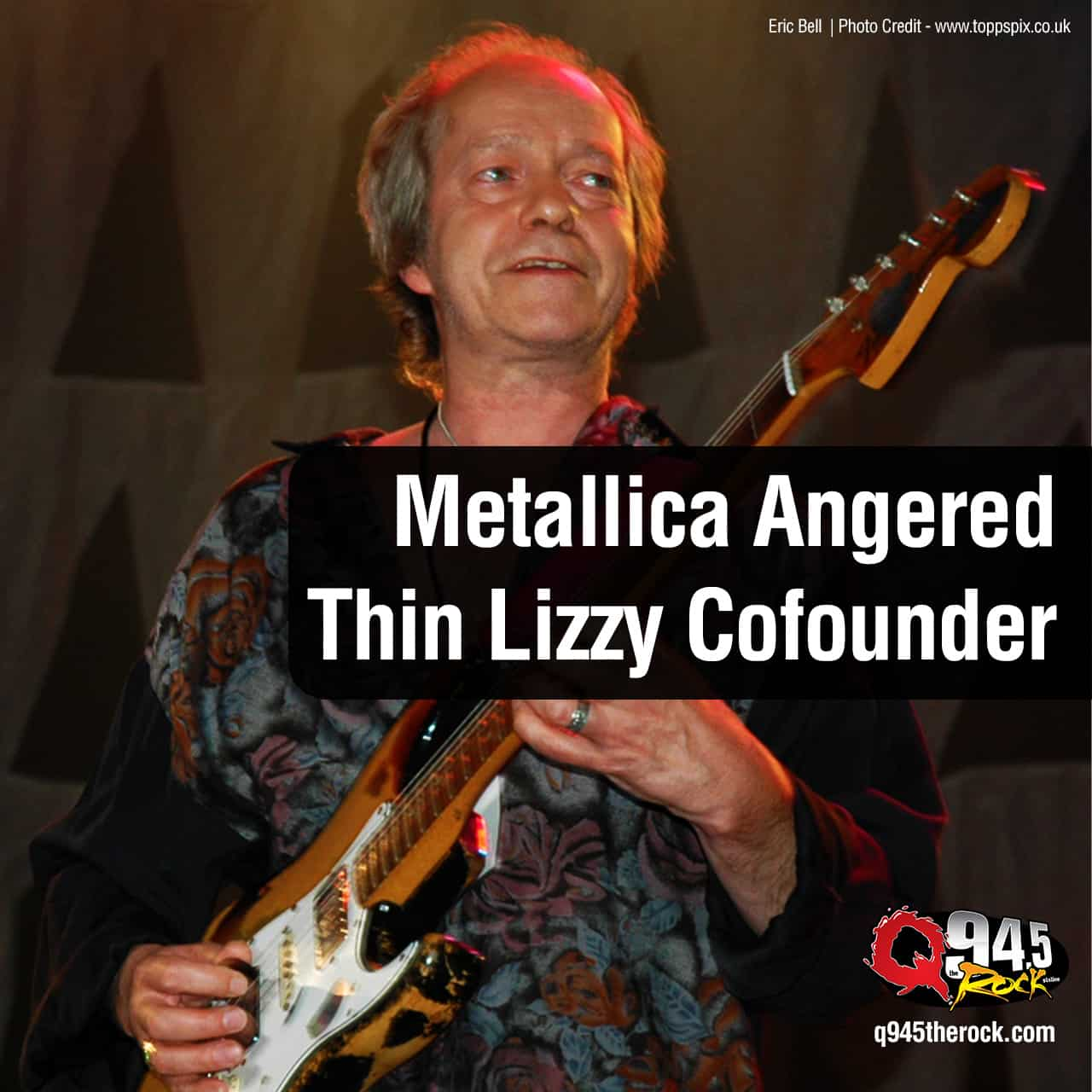 Metallica Angered Thin Lizzy Cofounder