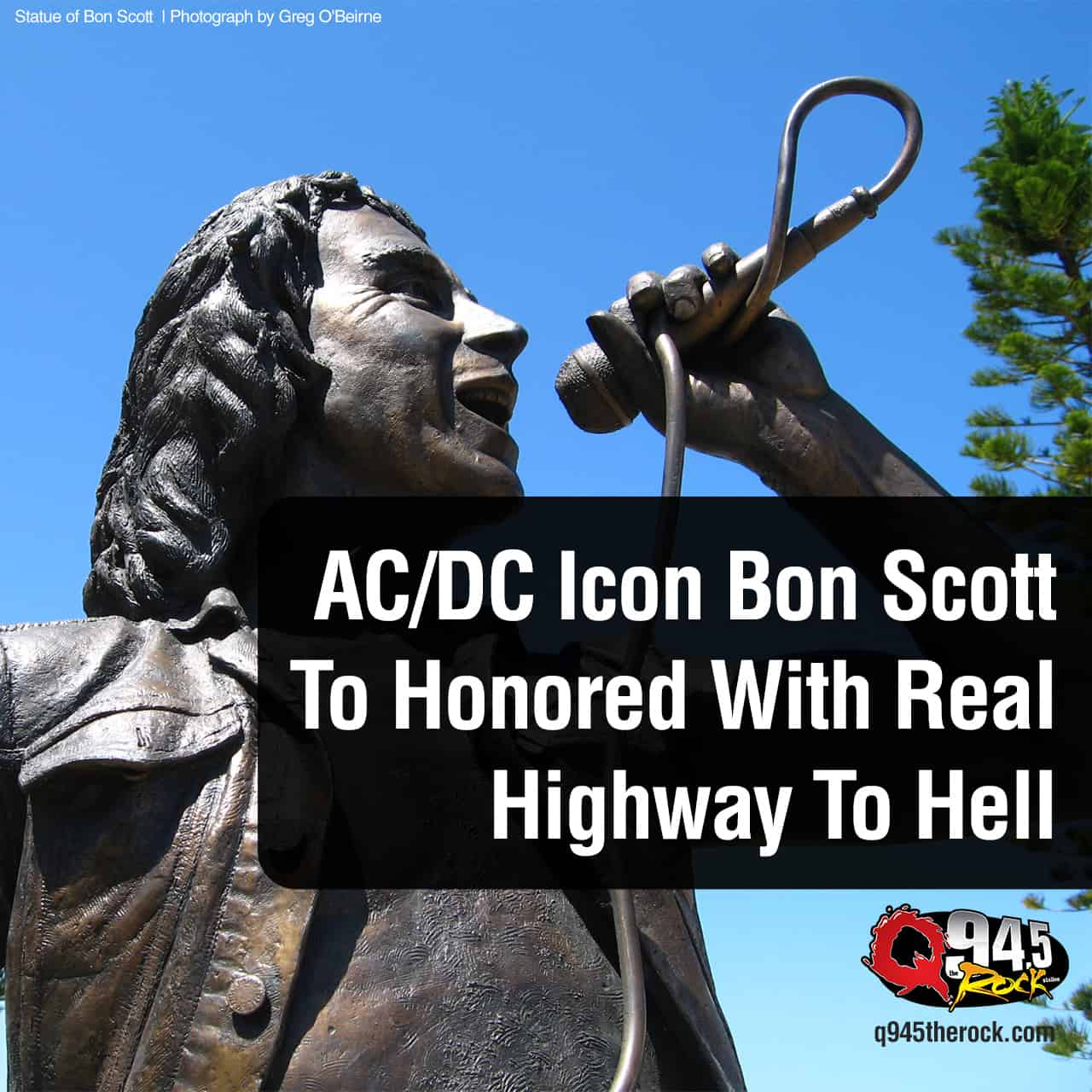 AC/DC Icon Bon Scott To Honored With Real Highway To Hell