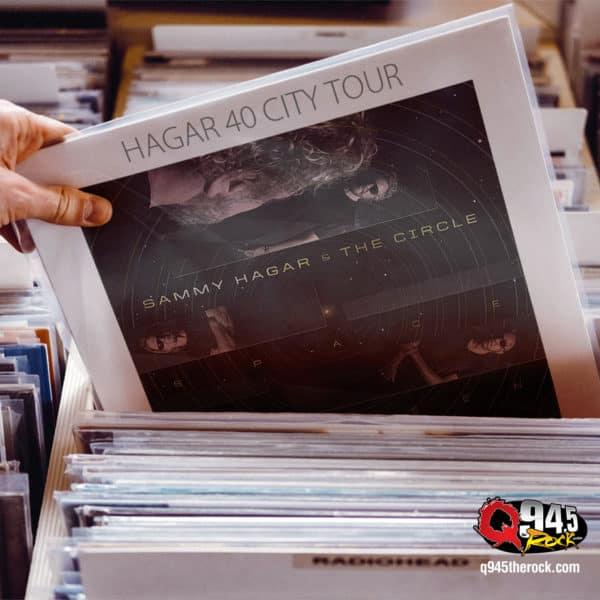 Sammy Hagar Plans 40 City Tour Next Year