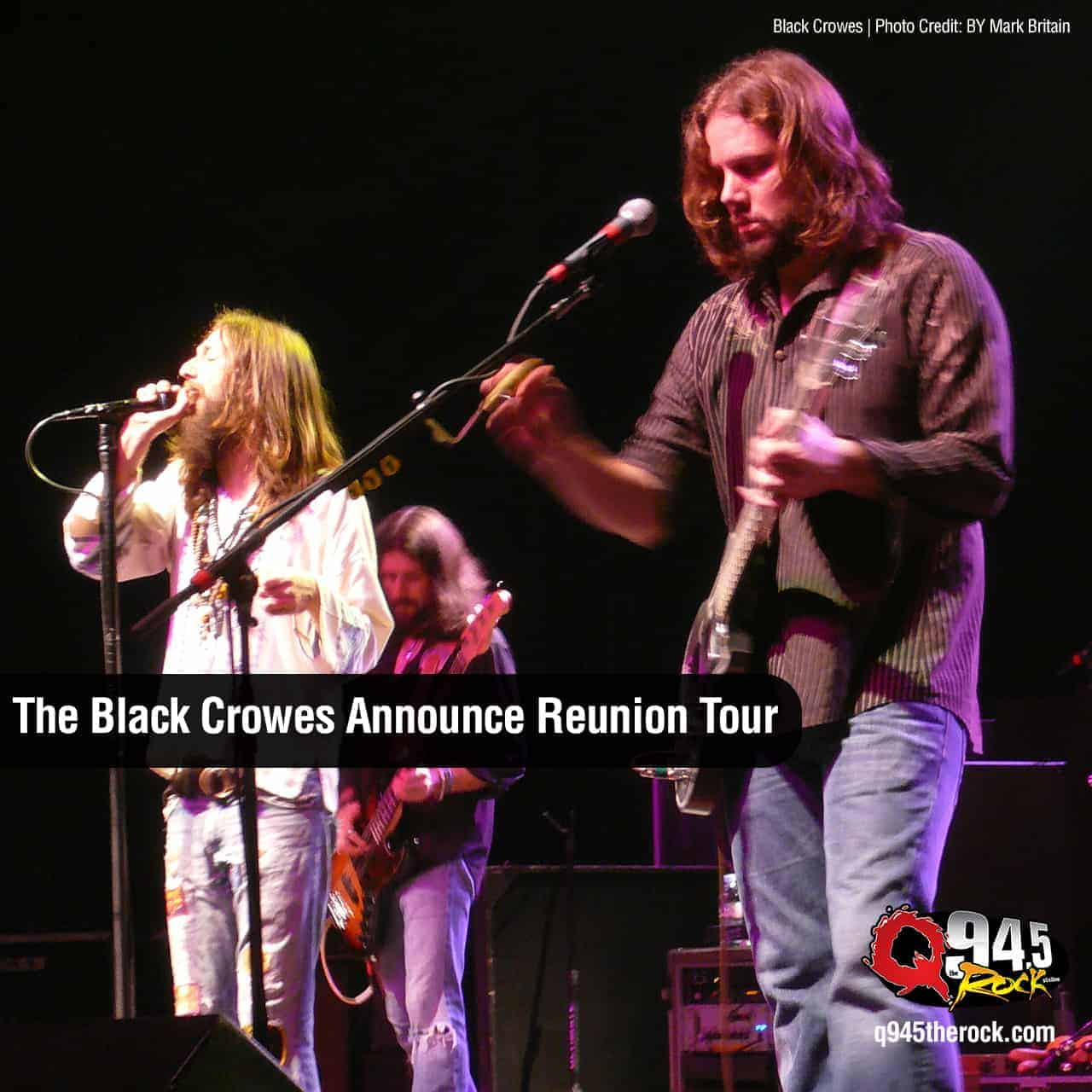 The Black Crowes Announce Reunion Tour