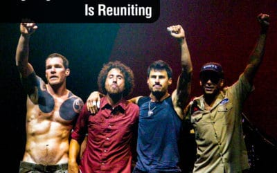 Rage Against the Machine Is Reuniting