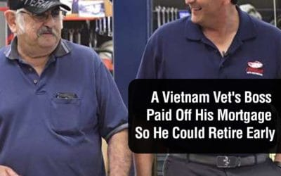 A Vietnam Vet's Boss Paid Off His Mortgage So He Could Retire Early