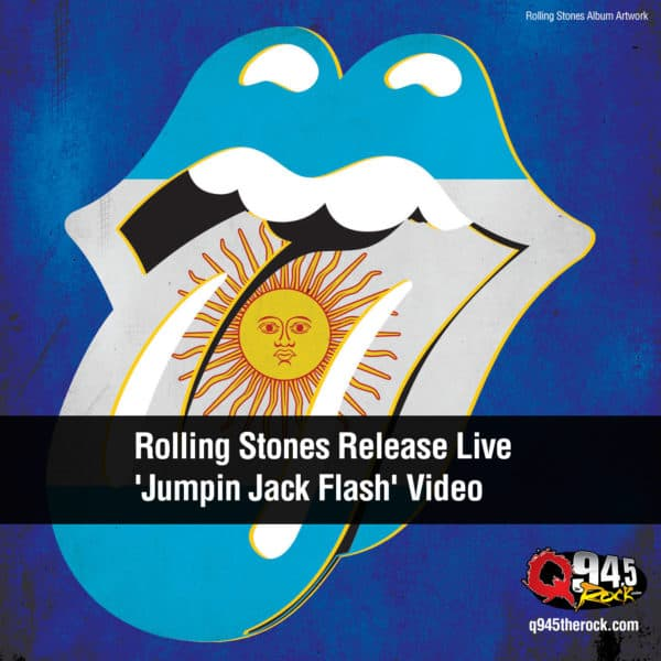 Rolling Stones Release Live 'Jumpin Jack Flash' Video