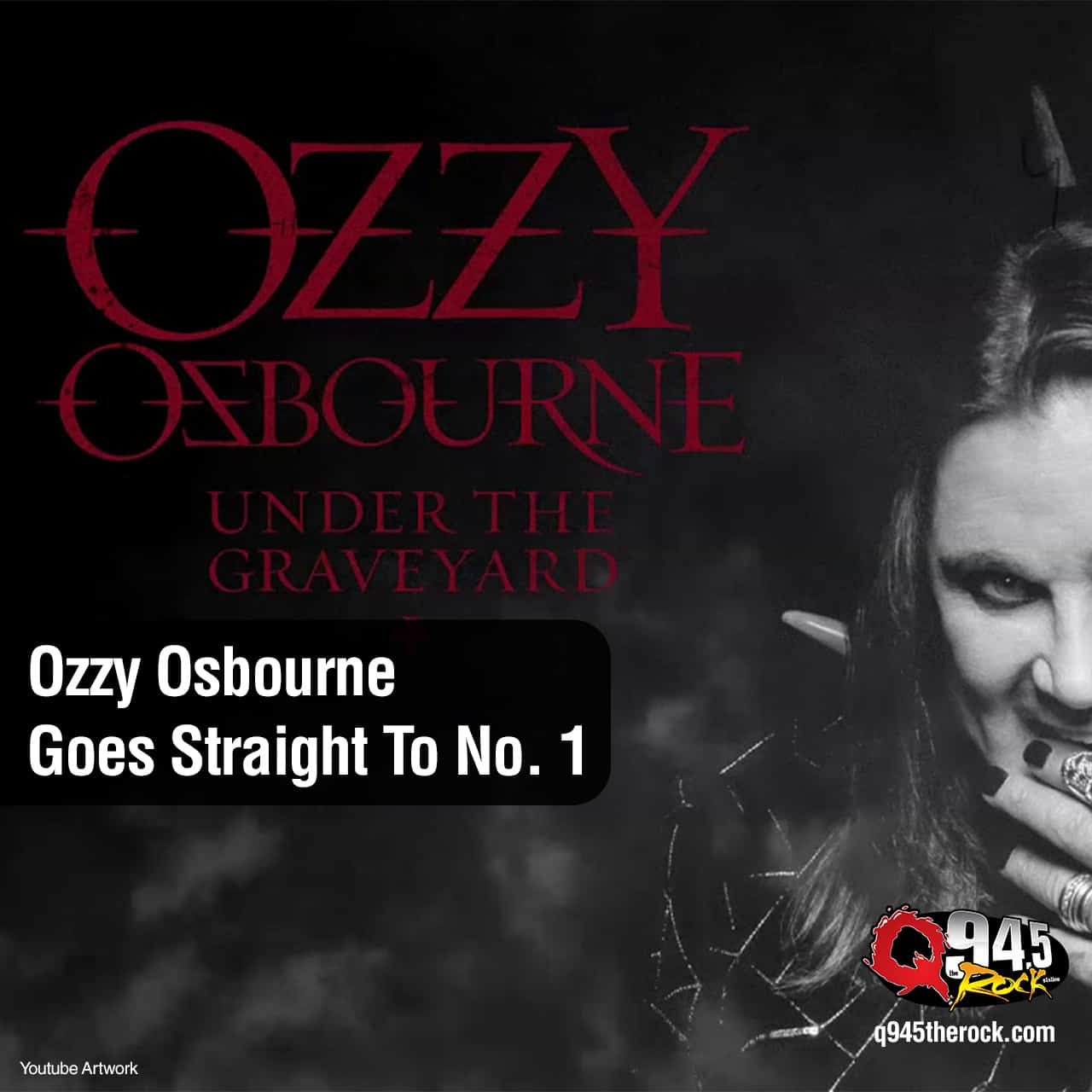Ozzy Osbourne Goes Straight To No. 1