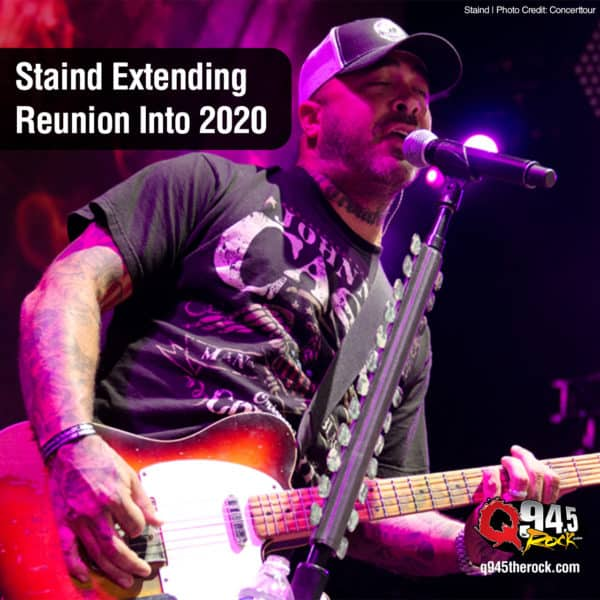 Staind Extending Reunion Into 2020