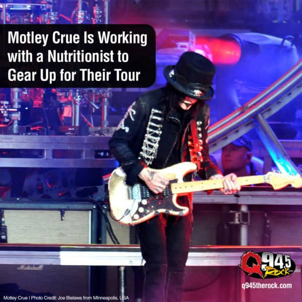 Motley Crue Is Working with a Nutritionist to Gear Up for Their Tour