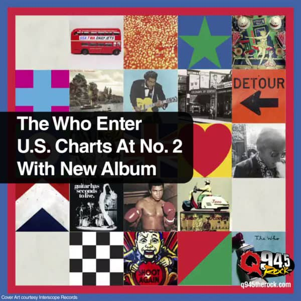 The Who Enter U.S. Charts At No. 2 With New Album