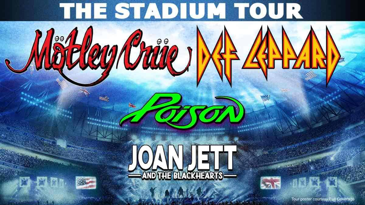 Def Leppard, Motley Crue, and Poison Tour May Be Extended -  KFRQ Q94.5