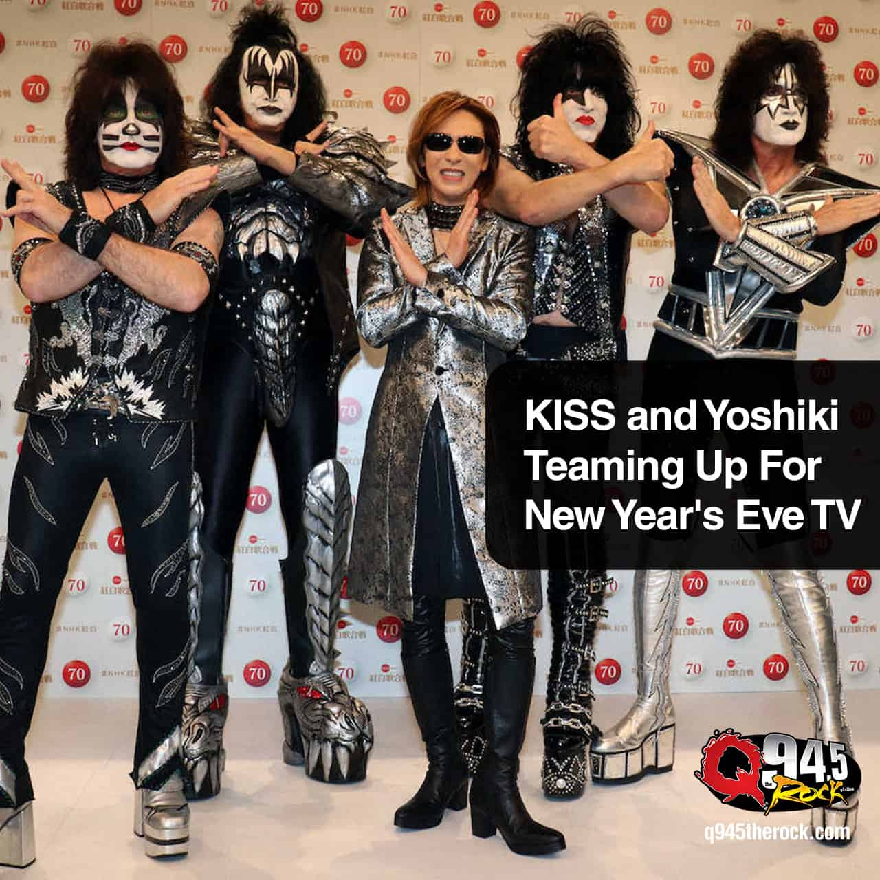 KISS and Yoshiki Teaming Up For New Year's Eve TV