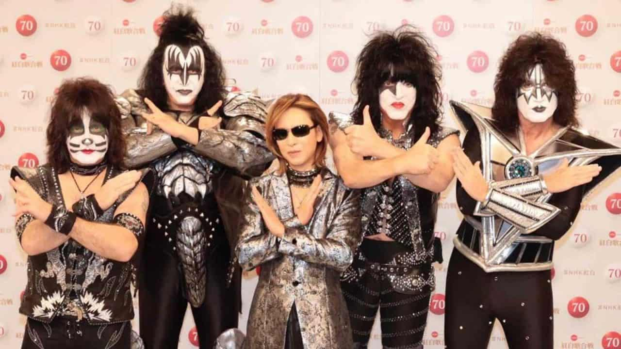 KISS and Yoshiki Teaming Up For New Year's Eve TV -  KFRQ Q94.5