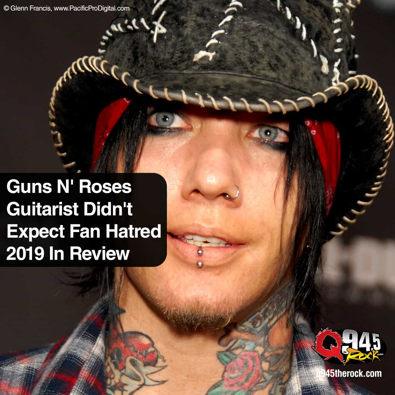 Guns N' Roses Guitarist Didn't Expect Fan Hatred to be Top 2019 In Review