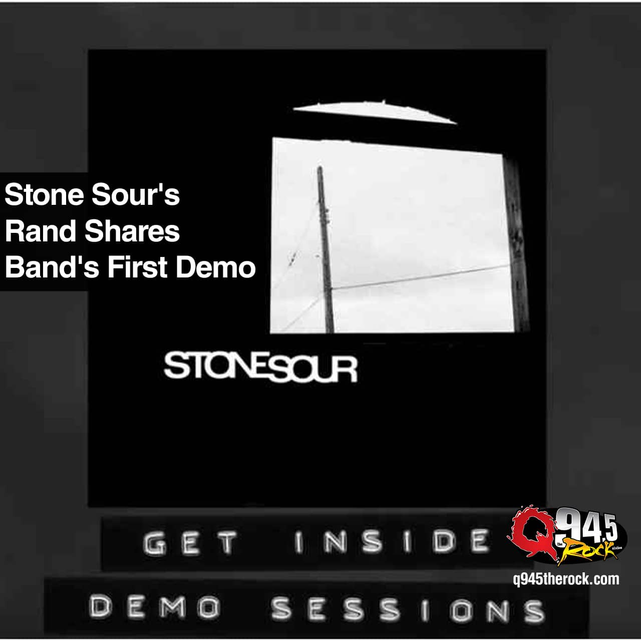 Stone Sour's Rand Shares Band's First Demo